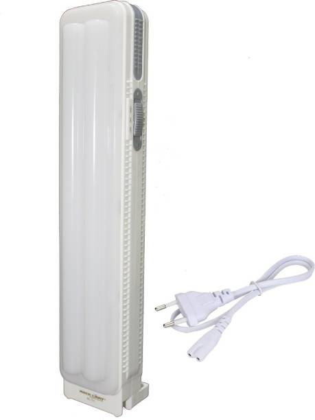 Sunaze Rechargeable Home Delight Rechargeable Long Tube Light with 15 Hours Backup Emergency Light (White) Lantern Emergency Light