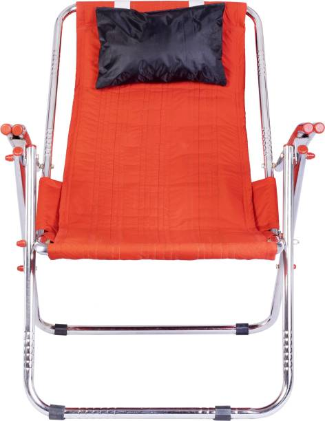 Patelraj Heavy Arm Folding Relax Chair Metal Outdoor Chair