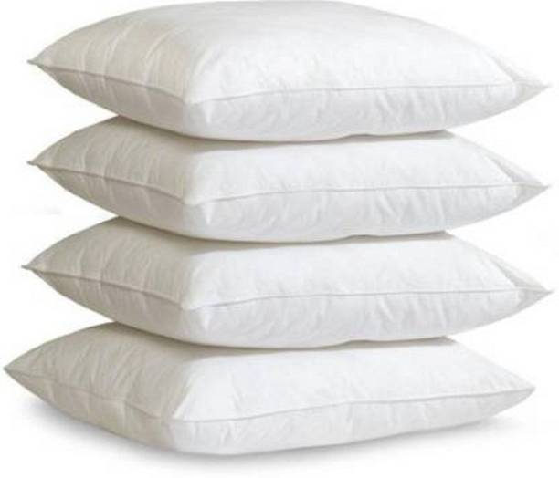 JJ Avatar Polyester Fibre Solid Sleeping Pillow Pack of 4