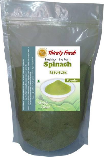 Thirsty Fresh Palak   Spinach Powder - Dehydrated