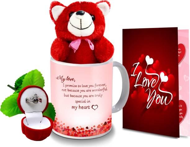 Flipkart SmartBuy Mug, Greeting Card, Soft Toy, Jewelry Gift Set