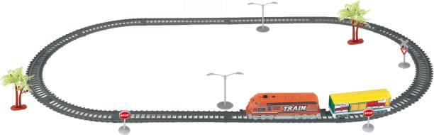 Turbo-S Sawmill Train Oval Track Set