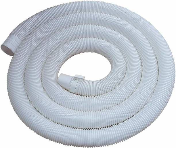 irkaja 1.3 Meter Top Load Fully & Semi Automatic Washing Machine Flexible PVC Plastic Waste Water Outlet Drain Hose Pipe/Extension Pipe (1.3 Meter) Washing Machine Outlet Hose