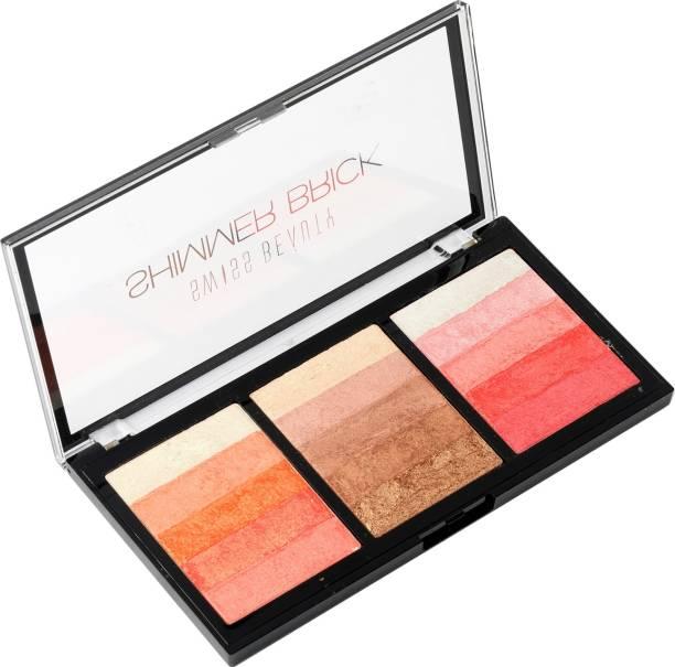 SWISS BEAUTY Shimmer Brick Palette
