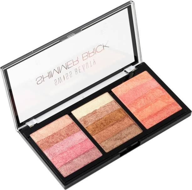 SWISS BEAUTY Shimmer brick Palette-01 Highlighter