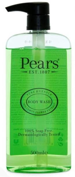 Pears Body Wash Pure & Gentle with Lemon Flower Extract 500ml for Women