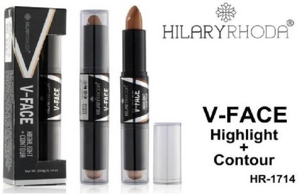 Hilary Rhoda V-FACE HIGHLIGHTER + CONTOUR HR-1714 Concealer