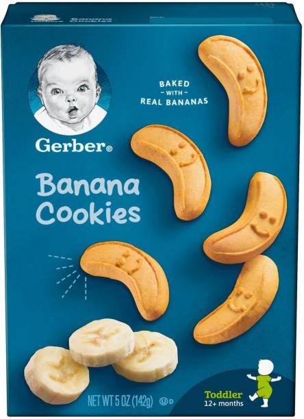 Gerber Banana Cookies - 142g Cookies