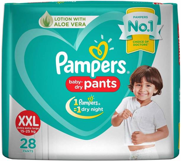 Pampers Baby-Dry Pants - XXL
