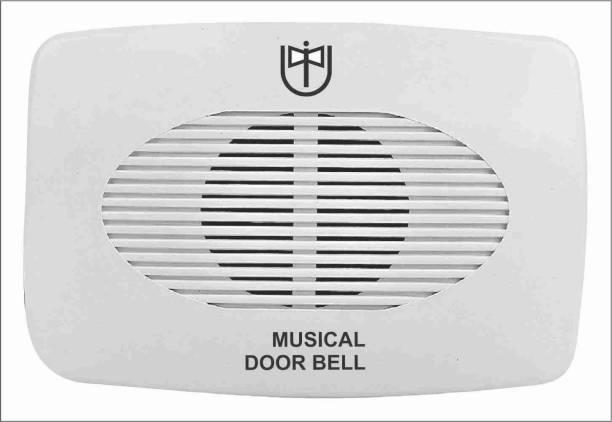 UNIVERSAL INDIA UNIVERSAL DOOR BELL WITH High sound UDB-1 GAYATRI MANTRA Door Door Window Alarm