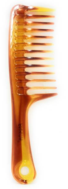 ClueSteps Soft & Smooth Plastic Made Hair Flat Comb