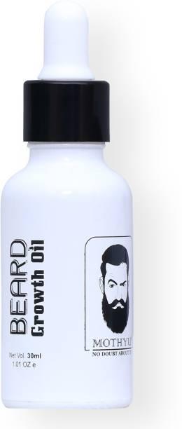 MOTHYU Beard growth oil - for beard and scalp Hair Oil