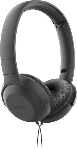 PHILIPS TAUH201BK Wired Headset