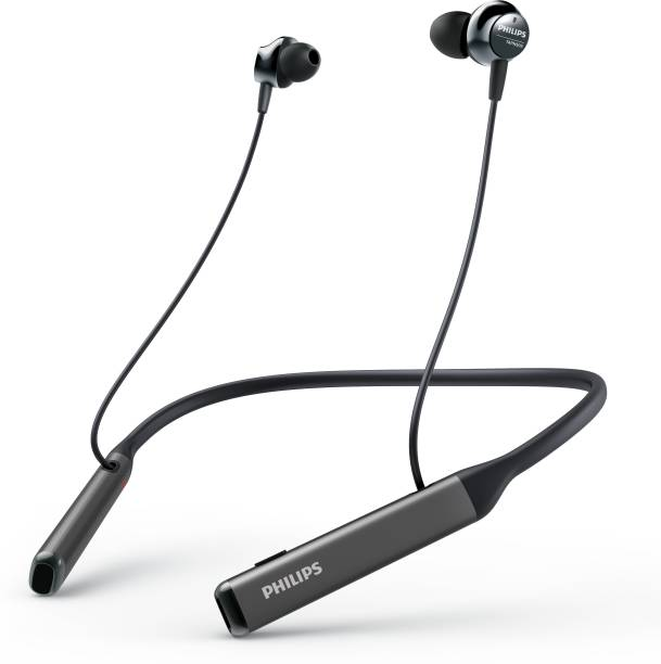 PHILIPS TAPN505BK Active noise cancellation enabled Bluetooth Headset