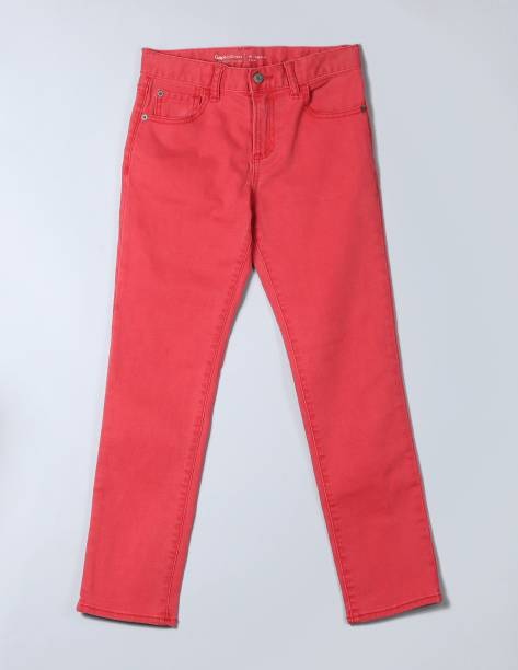 GAP Slim Boys Red Jeans