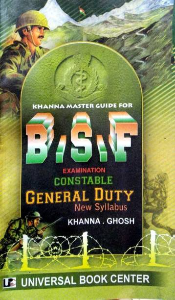 Khanna Master Guide For B.S.F Constable General Duty In English