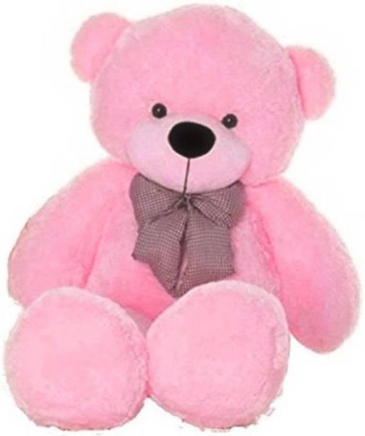ToyKing 3 Feet Long Teddy Bear Pink Teddy Bear  - 118.88 cm