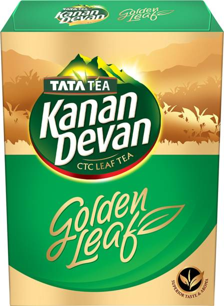 Tata Kanan Devan Golden Leaf Tea Box