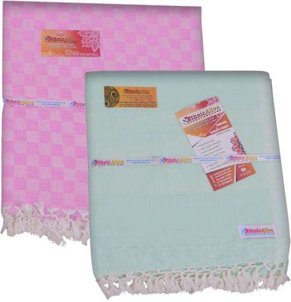 EthnicAlive Checkered Single Comforter
