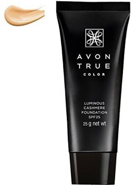 AVON True Color Ideal Luminous Cashmere Advanced Foundation SPF 25 (Nude) Foundation