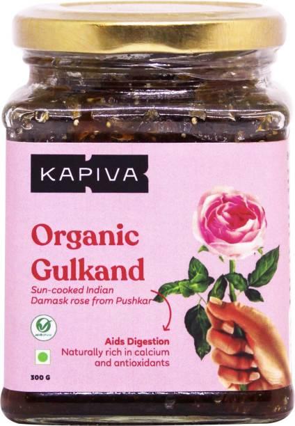 Kapiva Organic Gulkand 300 g