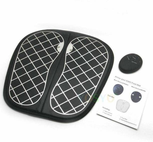 Smartcraft EMS Foot Massager Mat, Portable Electric Foot Adjustable 10 Frequency Muscle Stimulatior Feet Massage Promoting Blood Circulation Muscle Pain Relief Massager