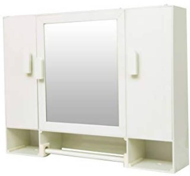 WINACO New Diplomat Bathroom Mirror Cabinet Fully Recessed Medicine Cabinet