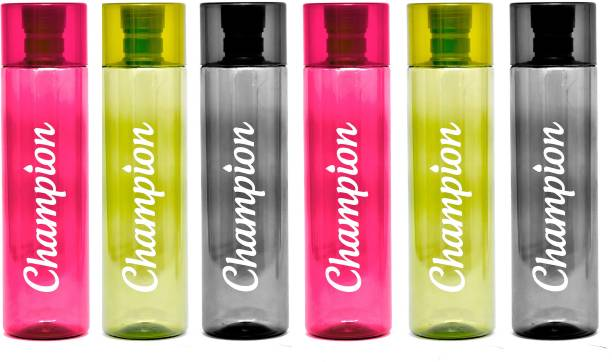 Homware Champion 500 ml pack of 6 multicolor 3000 ml Bottle