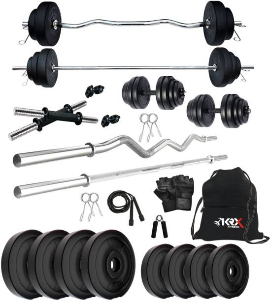 KRX 20 kg PVC COMBO 343-SL Home Gym Combo