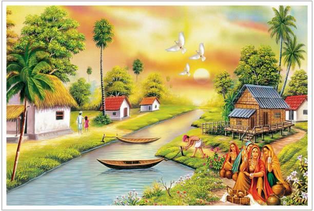Beautiful Natural Scenenry Paper Poster Paper Print