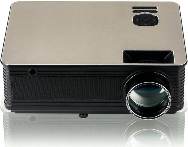 LAZERVISION LV405 FULL HD 1920*1080, USB VGA 5000 Lumens LED Projector Projector