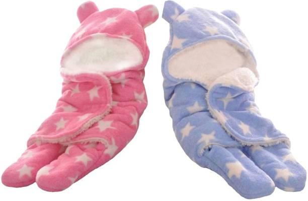 My New Born Supersoft, Premium quality baby sleeping bag, wrapper, blanket-All seasons Sleeping Bag
