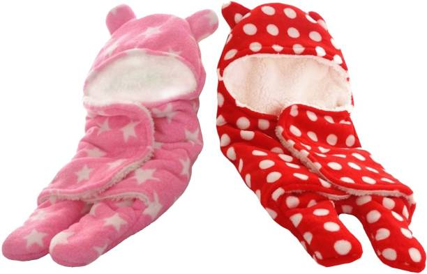 My New Born Supersoft, Premium quality baby sleeping bag, wrapper, blanket-All seasons Sleeping Bag