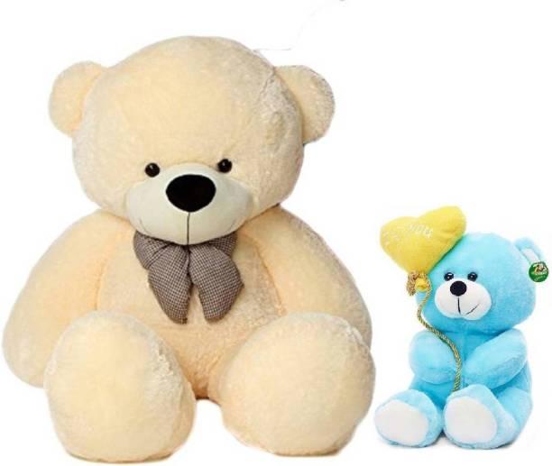 TEDDYIA 3 Feet Long Soft Cute Teddy Bear With 26CM Pink  - 91 cm