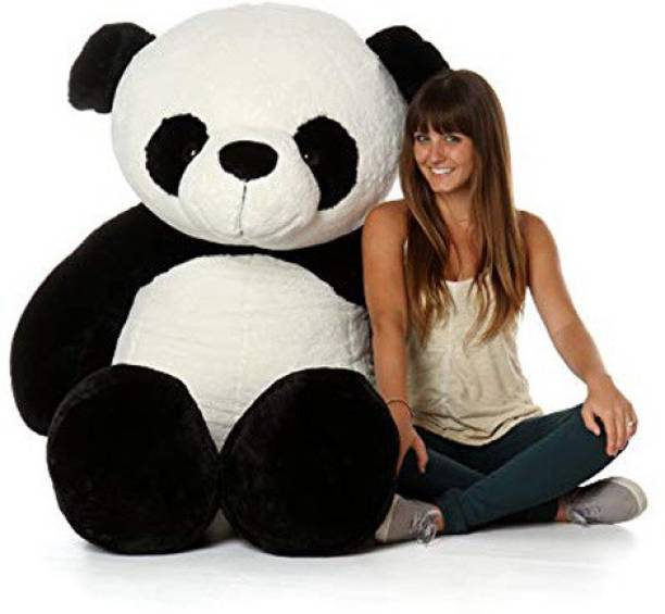 He&She 5 feet Lovable Hugable cute large Teddy Bear (Best for someone special) PANDA  - 152 cm