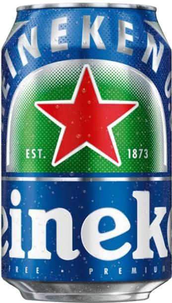 Heineken Alcohol Free Beer Can