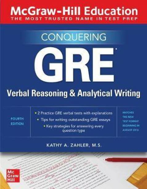 McGraw-Hill Education Conquering GRE Verbal Reasoning and Analytical Writing, Second Edition