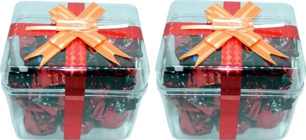 Rich'U Chocolates Chocolate Gift Box (12 Pcs) Set of Two Boxes Bars