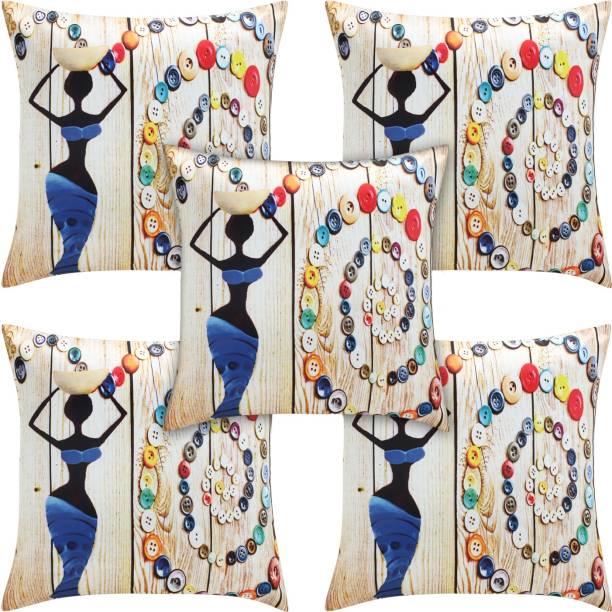 Desi Kapda Printed Cushions & Pillows Cover