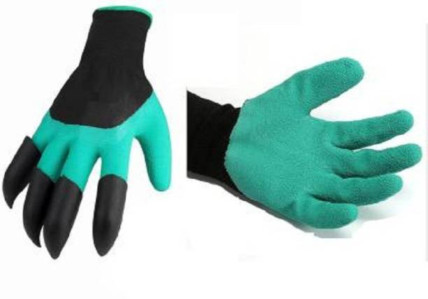 Unique Buyer Hand Gloves With Built-In Claws For Garden Digging & Planting Gardening Shoulder Glove