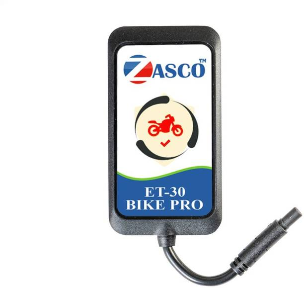 ZASCO ET30 Bike Pro Gps Tracker advance Bike Battery Dip Discharge Protection & remote ignition cut of feature / Water and Dust Proof GPS Device