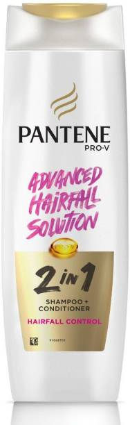 PANTENE 2 in 1 Hairfall Control Shampoo + Conditioner, 340 ml