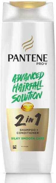 PANTENE 2 in 1 Silky Smooth Care Shampoo + Conditioner, 340 ml