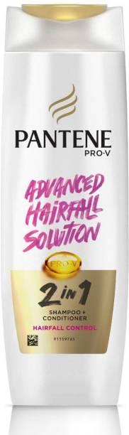 PANTENE 2 in 1 Hairfall Control Shampoo + Conditioner, 180 ml
