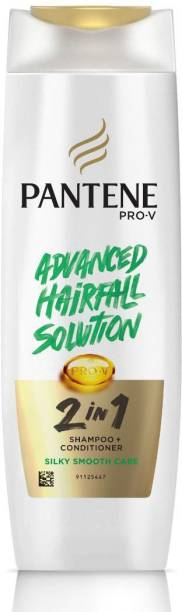 PANTENE 2 in 1 Silky Smooth Care Shampoo + Conditioner, 180 ml