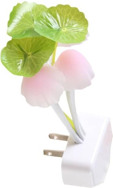 My Machine Mushroom Shape Automatic Sensor LED Color Changing Night Lamp, Multicolored LED Mushroom Lamp for Home and Bedrooom Smart Sensor Light
