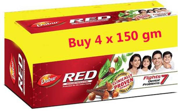 Dabur Red paste for teeth and gums 150 gm Toothpaste