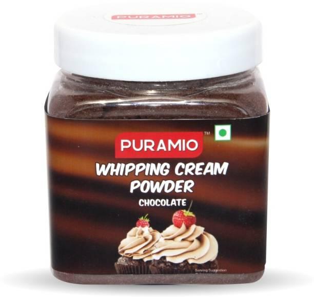 PURAMIO Whipping Cream Powder (Chocolate) Icing