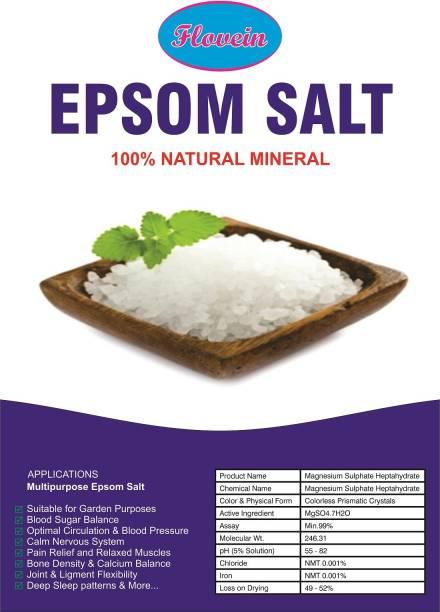 FLOVEIN EPSOM SALT MAGNESIUM SULPHATE BATH SALT 1 KG