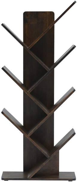 Urbancart Solid Wood Open Book Shelf